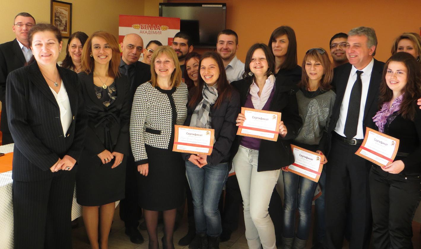 Bella Academy Scholars form UFT (2014)