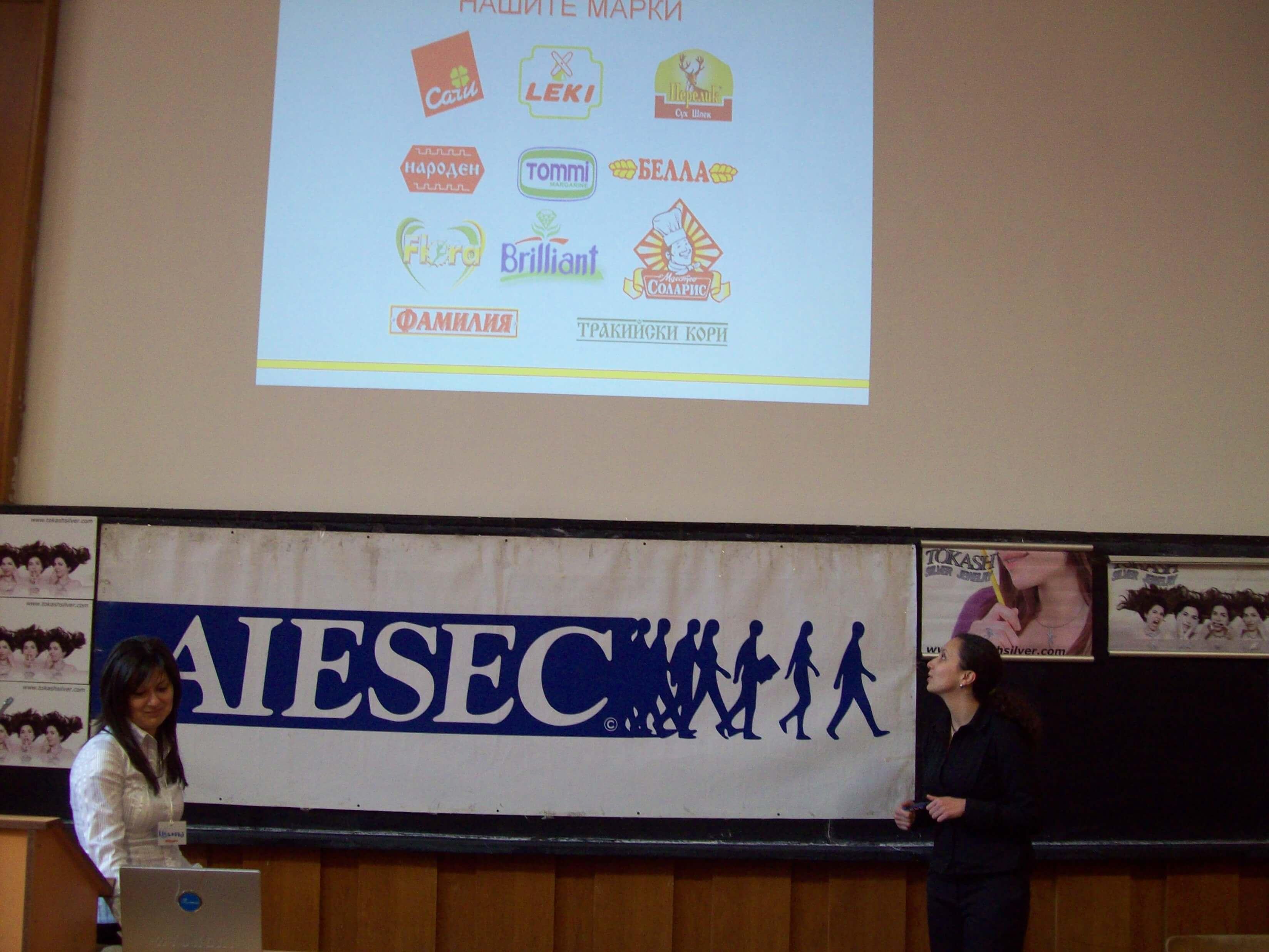 Bella at AIESEC 2015