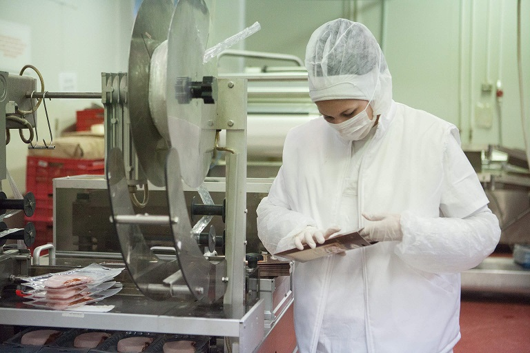 Bella meat processing plant packaging
