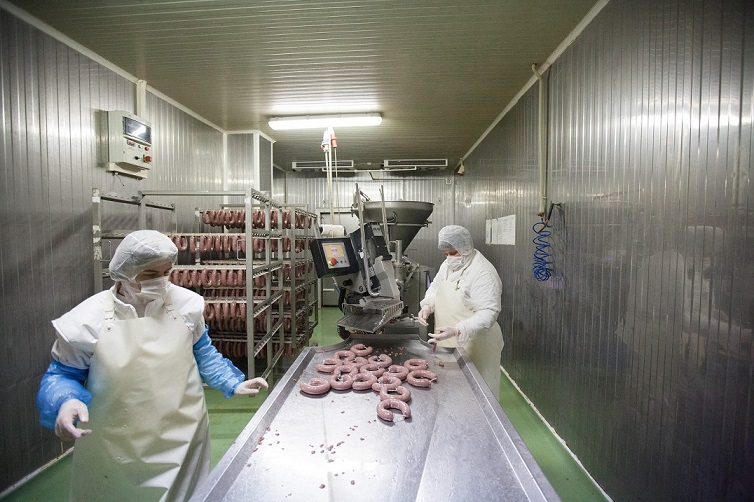 Bella meat processing plant