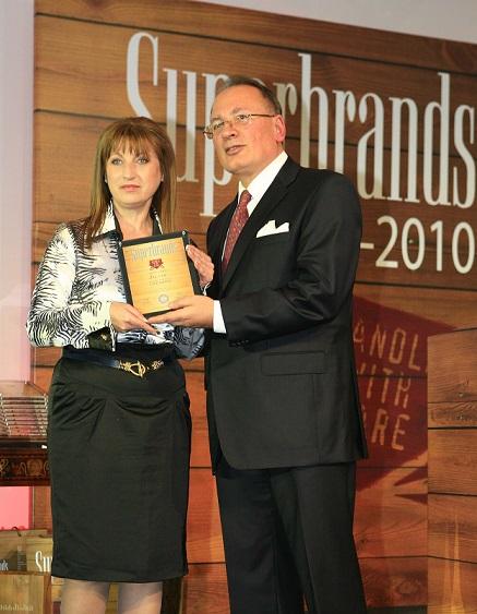 Елза Маркова на Superbrands 2009-2010/Elza Markova at Superbrands 2009-2010