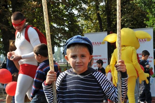 Откриване на детска площадка BELLA/Inauguration of a BELLA Kind Playground