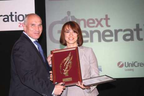 Milena Dobranova - the best manager in the Next generation contest